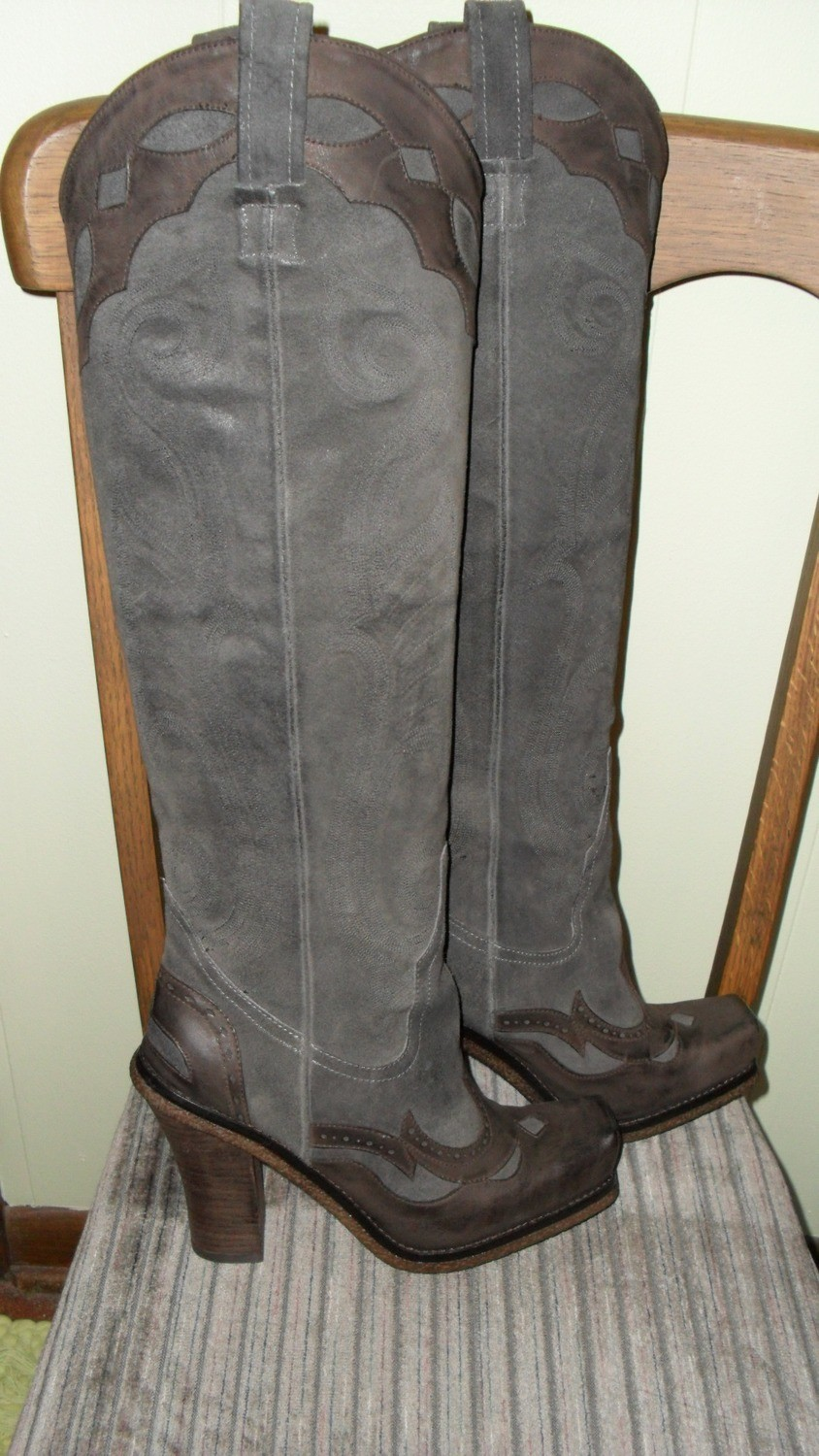 No competition for these western style Donald J. Pliner boots!