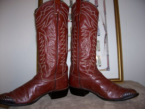 Lovin' these Justin White Label boots!!