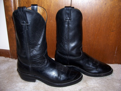 """Street Warrior 12"""" Black Wellington Motorcycle Boots by Chippewa"""