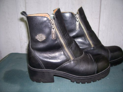 Move over.....these Harley Davidson boots are taking over the road!