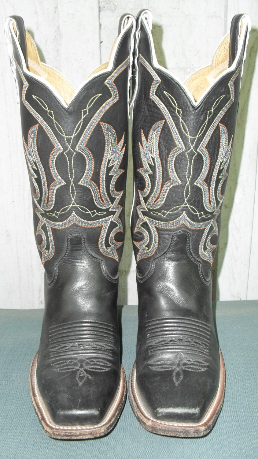 """Justin Black Italian Pull-up Boots...Can You Say """"Bellissimo""""?"""