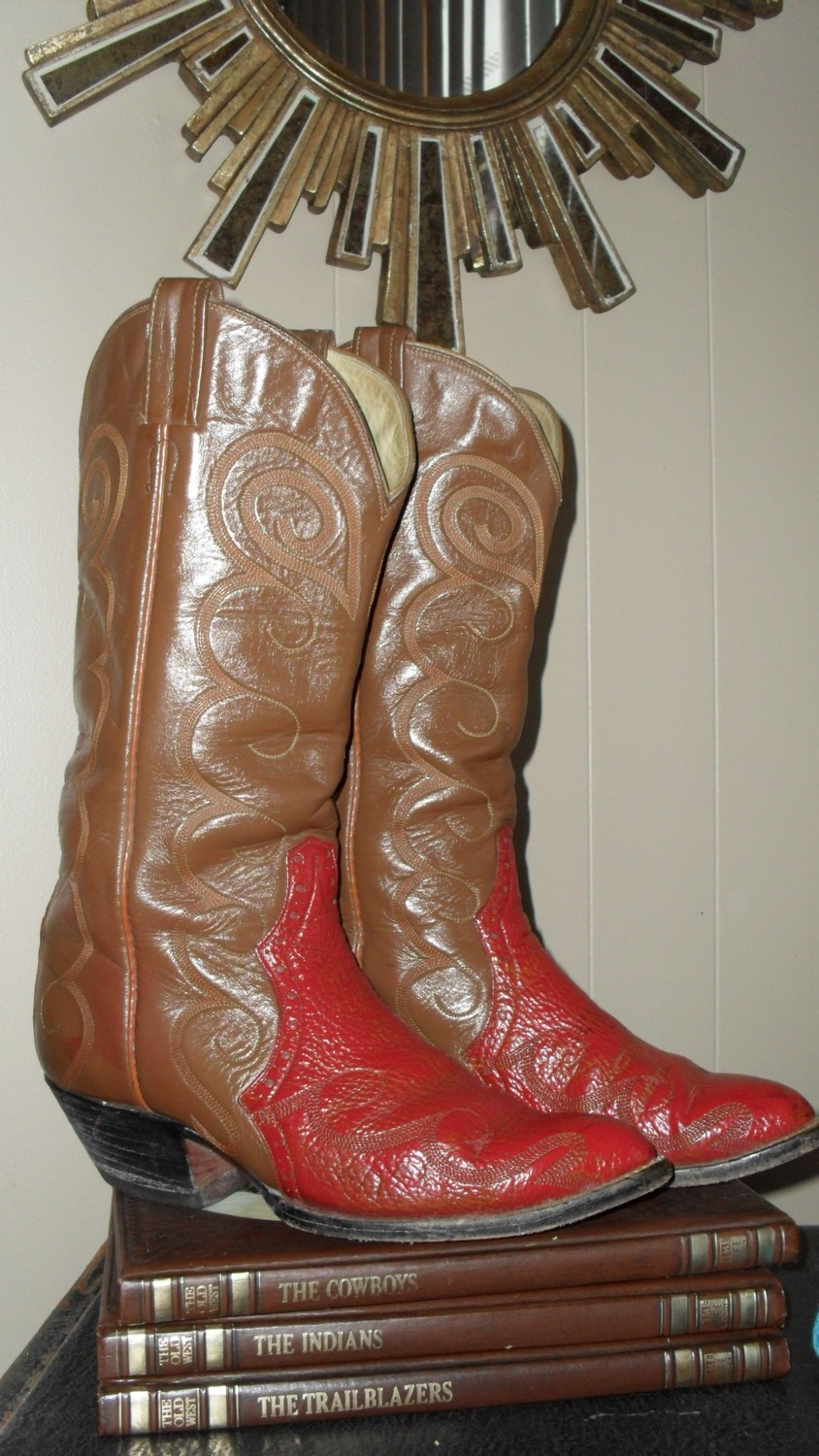 Rare Laramie boots worthy of immense boot envy!