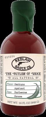 Serrano Apricot BBQ Sauce (16 FL OZ)