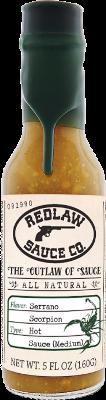 Serrano Scorpion Hot Sauce - Medium (5 FL OZ)