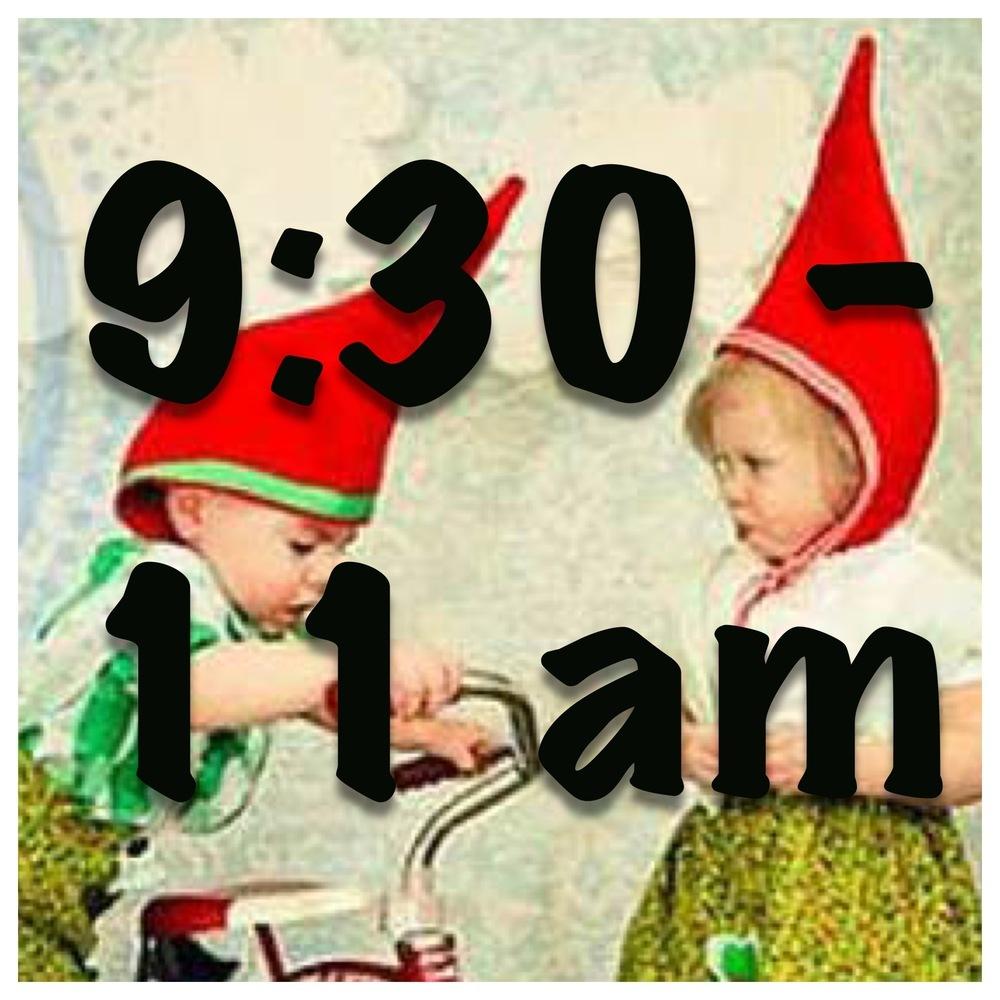 Little Gnomes Entrance Tickets 9:30am - 11am