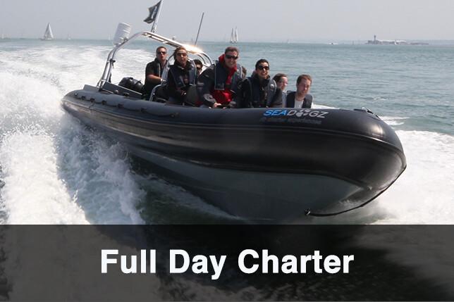 Full Day RIB Charter- PRICE- FREEZE