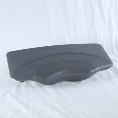 60-1195, Snapcap, ABS, Pillowless w/Clips, Grey, 2009 - 2012