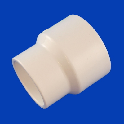 10-1689, PVC, Coupling, Reducing, 2-1/2