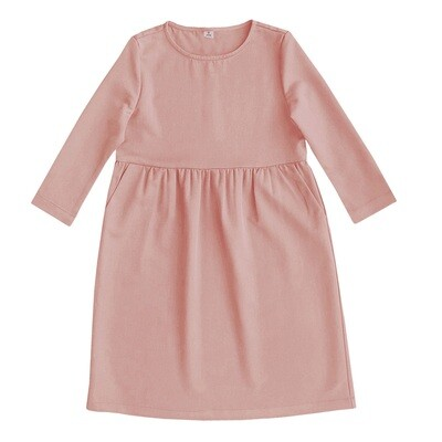Платье взрослое розовое