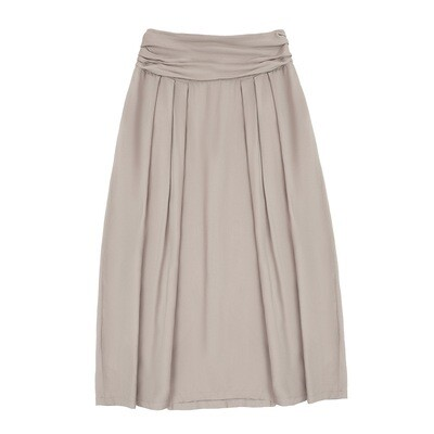 Взрослая юбка бежевая (весна-лето 2020)