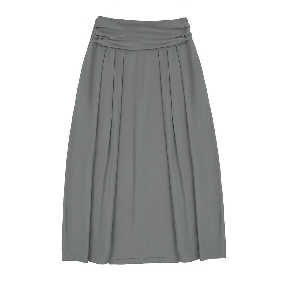 Взрослая юбка серая (весна-лето 2020)
