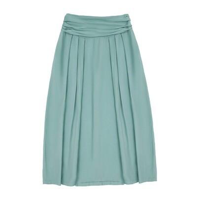 Взрослая юбка цвет морской волны пастельный (весна-лето 2020)