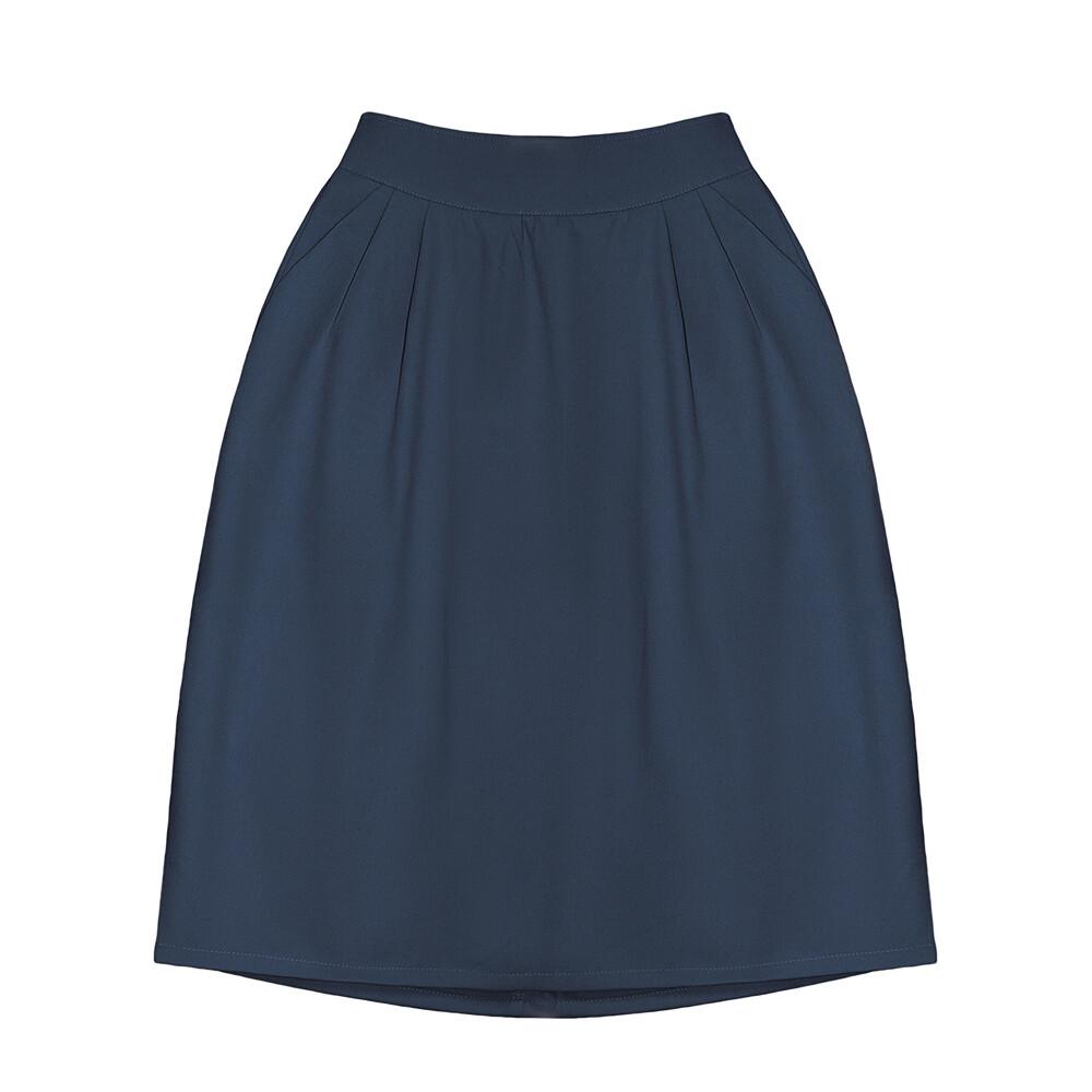 Взрослая юбка темно-синяя (2020)