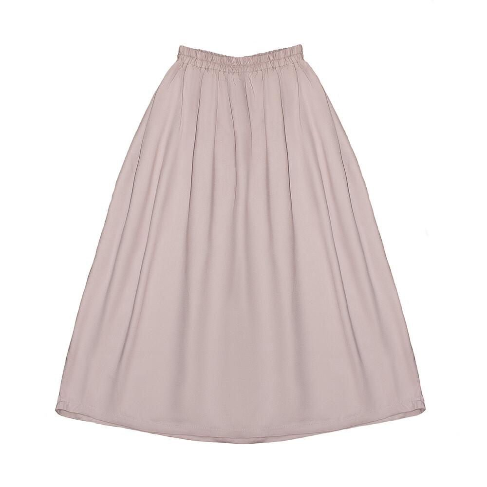 Подростковая юбка нежно-пудровая (весна-лето 2020)