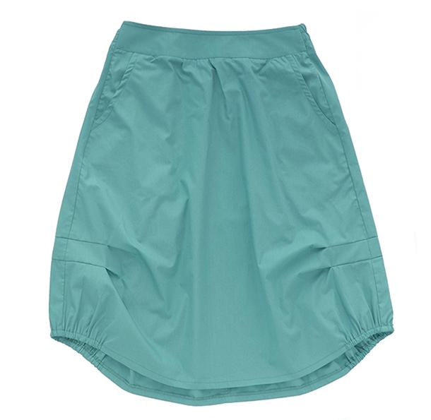 Взрослая юбка бирюзовая (лето 2016)