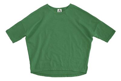 Лонгслив унисекс зелёный