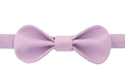 Галстук-бабочка для девочек розовая