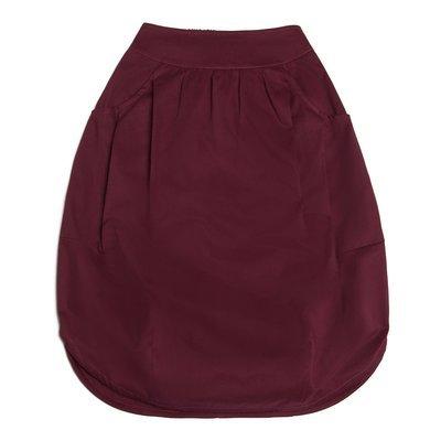 Взрослая юбка бордовая (2018)