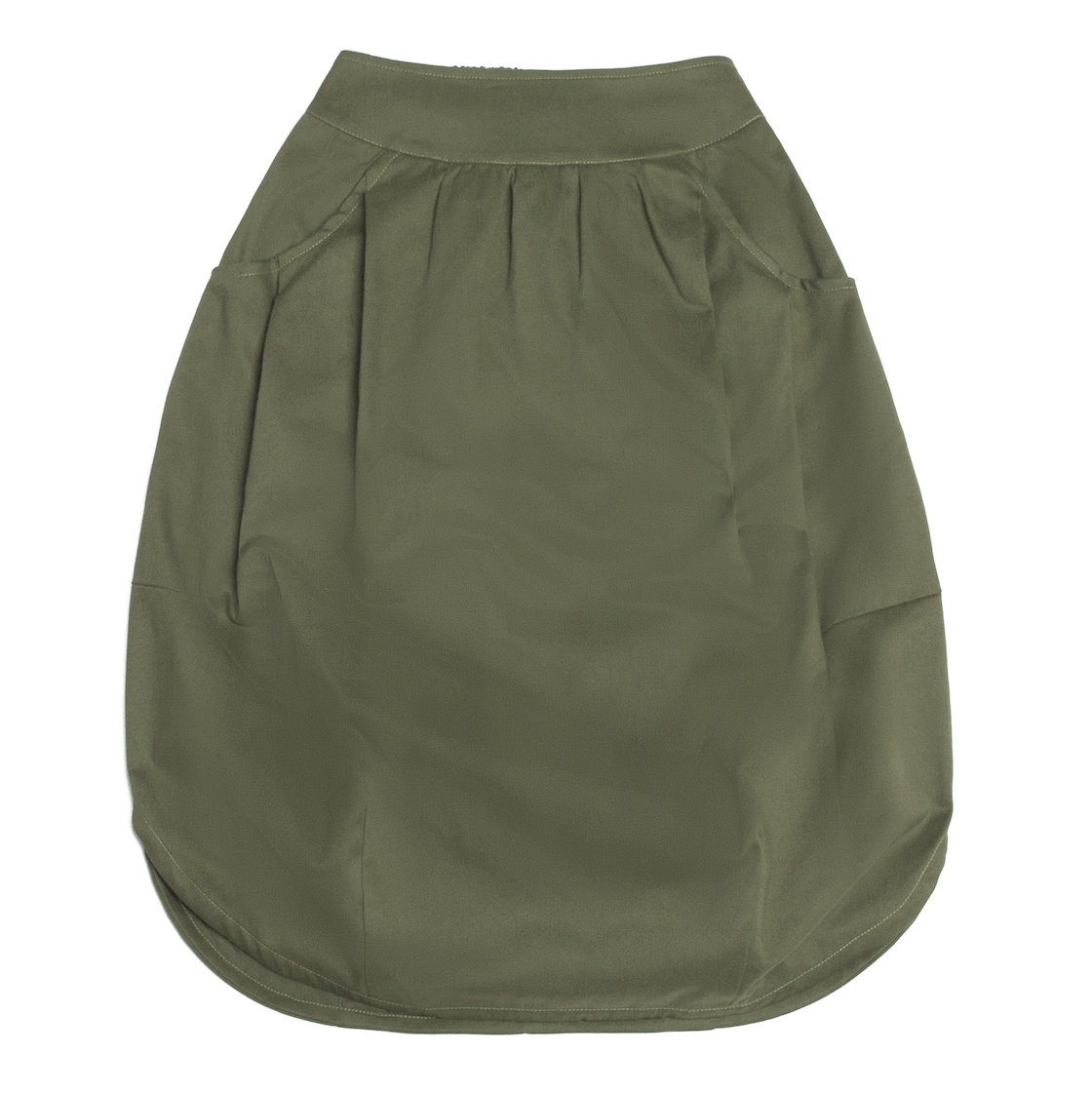 Взрослая юбка хаки (2018)