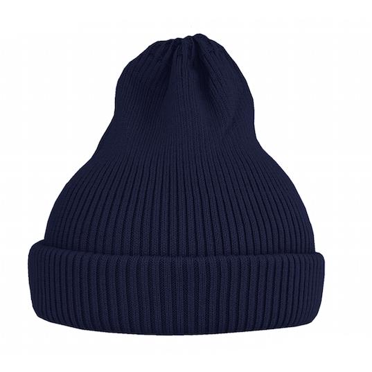 Хлопковая шапка ko-ko-ko темно-синяя