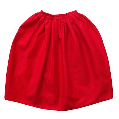 Длинная юбка красная