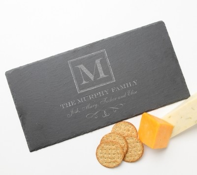 Personalized Slate Cheese Board 15 x 7 DESIGN 41
