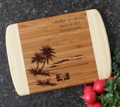 Personalized Cutting Board Custom Engraved 10 x 7 DESIGN 33