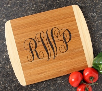 Personalized Cutting Board Custom Engraved 14x11 DESIGN 1