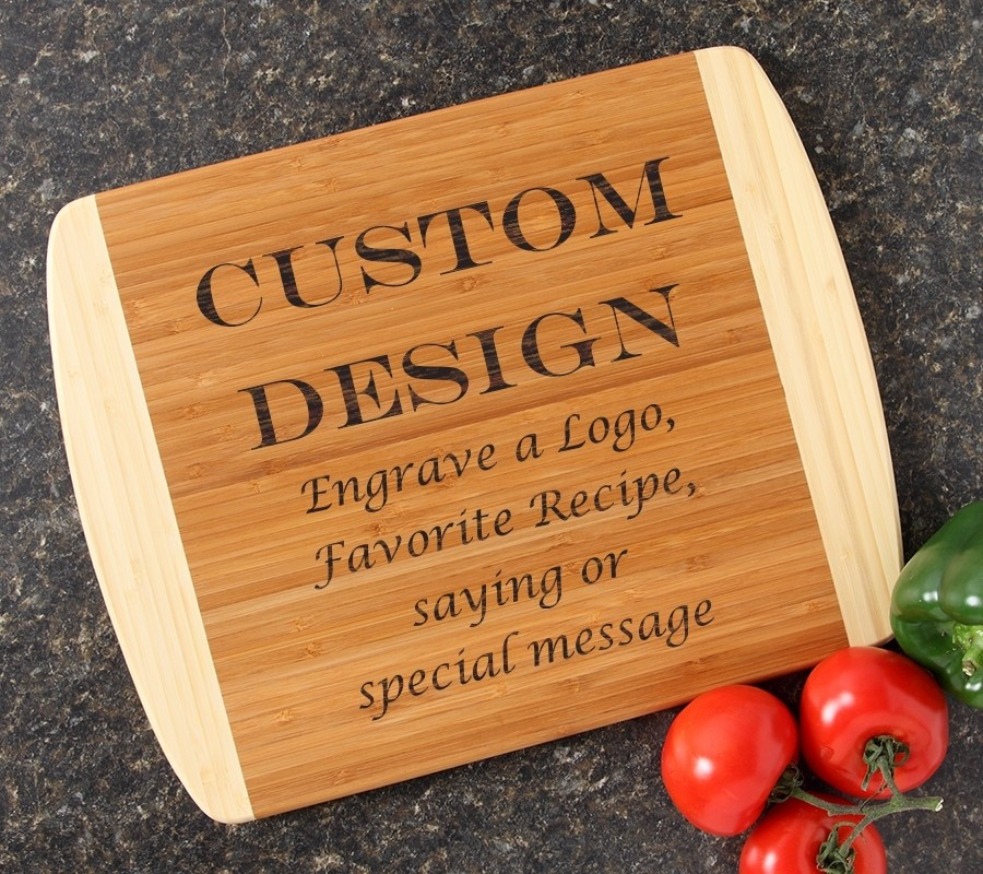 Personalized Cutting Board Custom Engraved 14x11 DESIGN 13