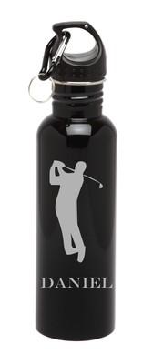 Personalized Water Bottle Stainless Steel Water Bottle Golf