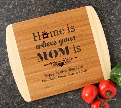 Personalized Cutting Board Custom Engraved 14x11 DESIGN 42