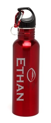 Personalized Water Bottle Stainless Steel Water Bottle Football