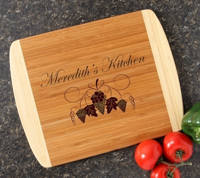 Personalized Cutting Board Custom Engraved 14x11 DESIGN 40