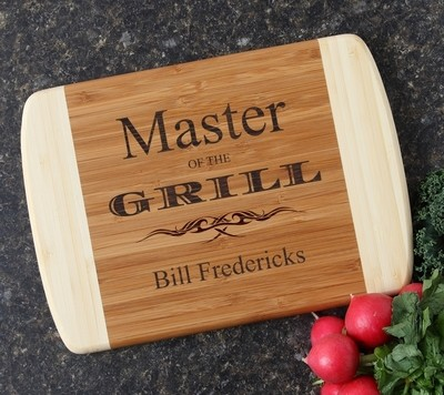 Personalized Cutting Board Custom Engraved 10 x 7 DESIGN 23