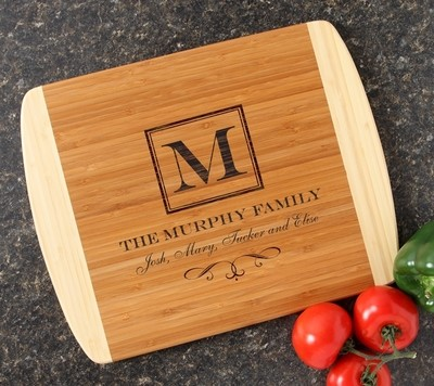Personalized Cutting Board Custom Engraved 14x11 DESIGN 41