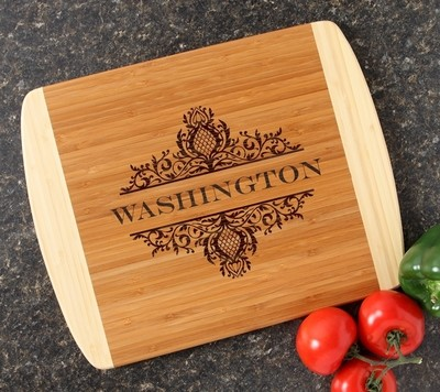 Personalized Cutting Board Custom Engraved 14x11 DESIGN 36