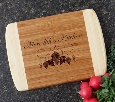 Personalized Cutting Board Custom Engraved 10 x 7 DESIGN 40