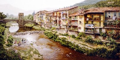 Washday in the Pyrenees
