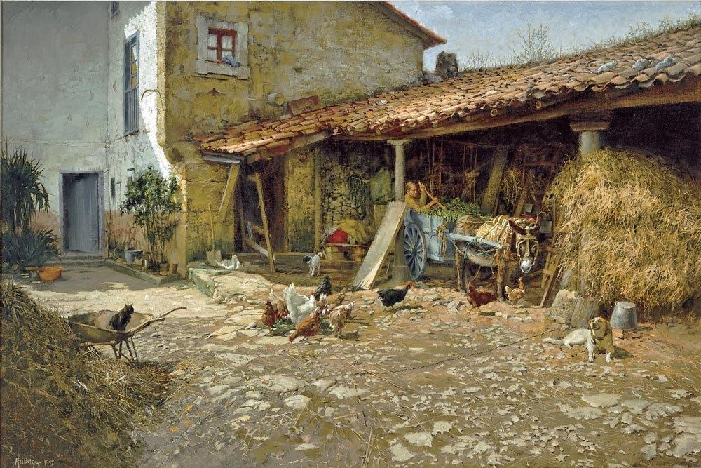 Portuguese Farmyard