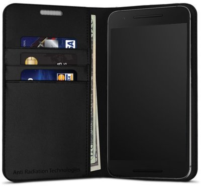 vest Anti-Radiation Wallet Case for Nexus 6P