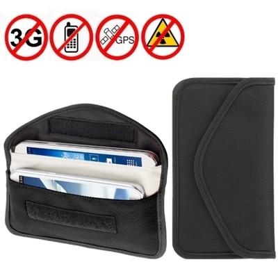 Nano Technology Anti Radiation Shielded Mobile Phone Wallet - Large