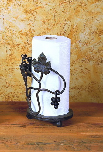 Vineyard Paper Towel Holder