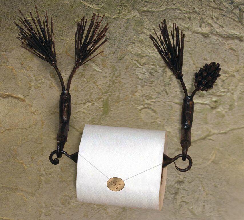 Pine Paper Holder