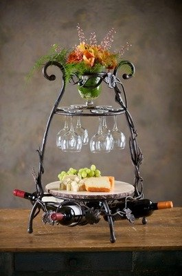 Vineyard Wine & Cheese Party Server