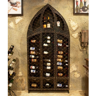 42 Wine Bottle Wall Rack