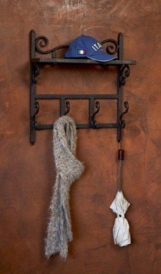 Siena Coat Shelf & Rack