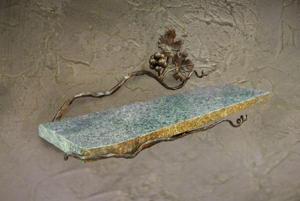 Vineyard Shelf w/Stone