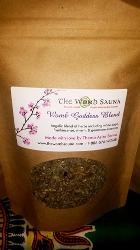 5 Prepacked 8 oz herbs for Resale- Womb Goddess Blend