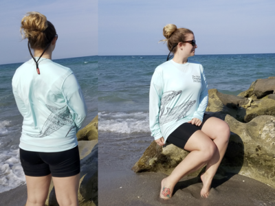 Sun Shirt - Dolphin Wrap