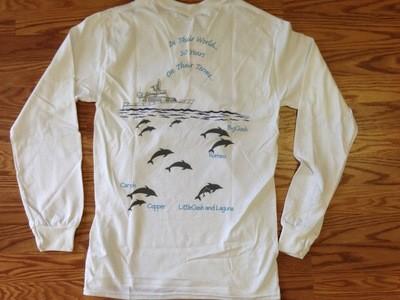 30-Year T-Shirt LONG sleeve - WHITE